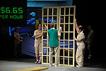 "Smith college production of ""Nickel and Dimed""..©2011 Jon Crispin.ALL RIGHTS RESERVED.."