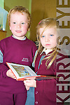 First cousins Cian and Meadhbh Bennet who start school in Fossa National School, last week.