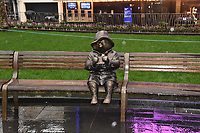 "Paddington statue unveiled at the launch of ""Scenes in the Square"" statue trail in Leicester Square, London.<br /> <br /> ©Ash Knotek  D3558 27/02/2020"