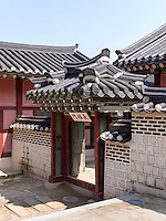 Hwaseong Haenggung Palast in  der Festung-Hwaseong von Suwon, Provinz Gyeonggi-do, S&uuml;dkorea, Asien, Unesco-Weltkultueerbe<br /> Hwaseong Haenggung palace in  fortress Hwaseong, Suwon, Province Gyeonggi-do, South Korea Asia, UNESCO World-heritage