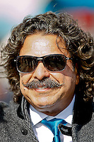 January 01, 2012:  Jacksonville Jaguars next owner, Shahid Khan on the field prior to the start of action between the Jacksonville Jaguars and the Indianapolis Colts played at EverBank Field in Jacksonville, Florida.  Jacksonville defeated Indianapolis 19-13........