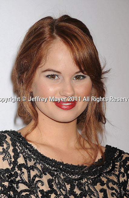 HOLLYWOOD, CA - SEPTEMBER 23: Debby Ryan arrives at the 9th Annual Teen Vogue Young Hollywood Party at Paramount Studios on September 23, 2011 in Hollywood, California.
