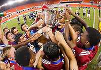 HOUSTON,Texas, Sunday, July 22, 2012: U17/18 USDA Championship game. FC Dallas defeated Vancouver 3-2 at BVAA Compass Stadium.