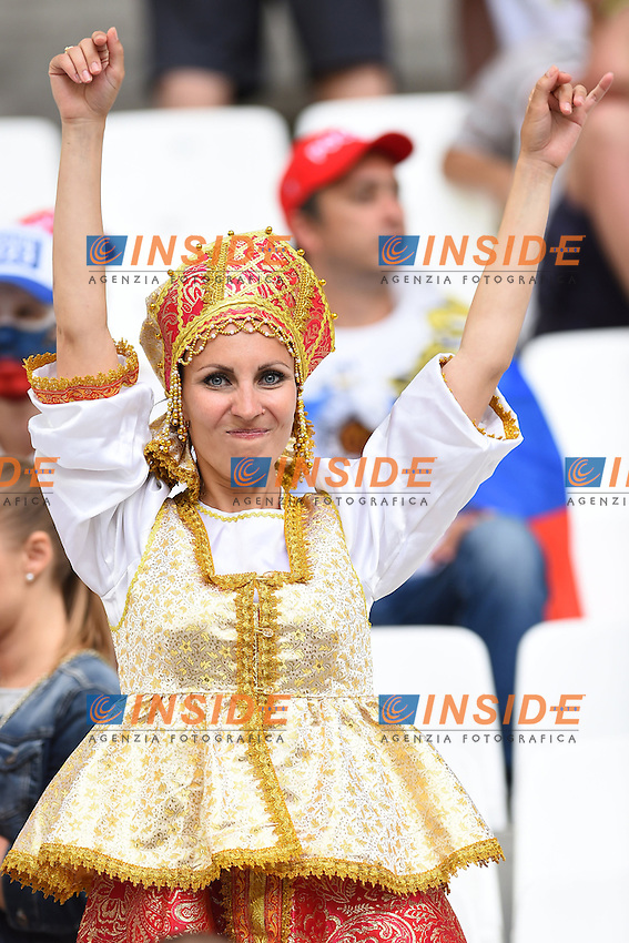 Tifosa Russia Supporters <br /> Marseille 11-06-2016 Stade Velodrome football Euro2016 England - Russia  / Inghilterra - Russia Group Stage Group B. Foto Massimo Insabato / Insidefoto