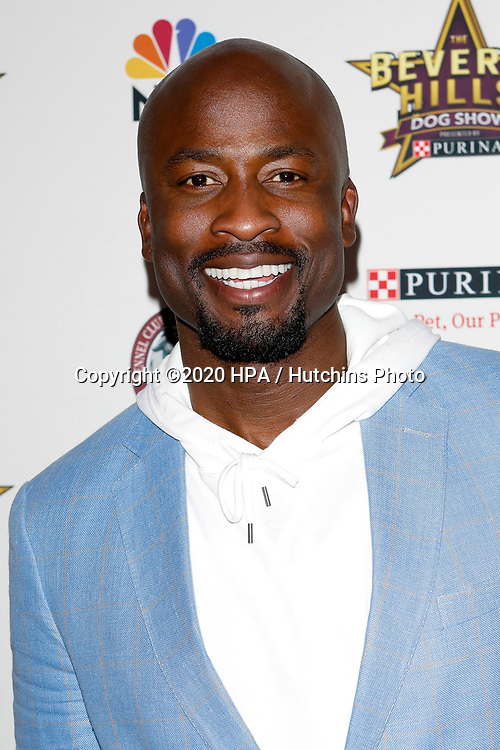LOS ANGELES - FEB 29:  Akbar Gbajabiamila at the Beverly Hills Dog Show Presented by Purina at the LA County Fairplex on February 29, 2020 in Pomona, CA
