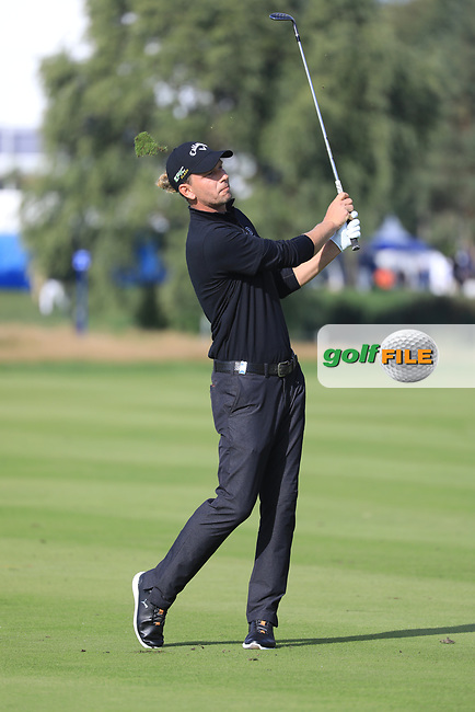 Marcel Siem (GER) during the second round of the Porsche European Open , Green Eagle Golf Club, Hamburg, Germany. 06/09/2019<br /> Picture: Golffile   Phil Inglis<br /> <br /> <br /> All photo usage must carry mandatory copyright credit (© Golffile   Phil Inglis)