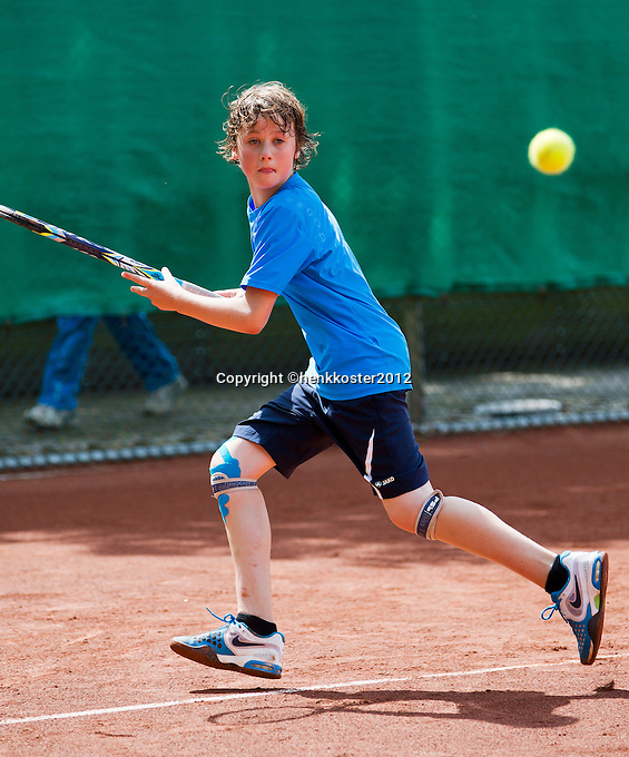06-08-12, Netherlands, Tennis, Hillegom, NJK, Jasper Baggerman   Yannick Verwater