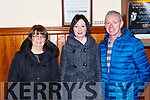 Eileen Casey, Sheila Curtin and Ritchie Fitzgerald Killarney at the Tommy Fleming concert in the Killarney Friary on Thursday night