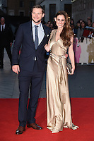 LONDON, UK. October 16, 2016: Jack Reynor &amp; Madeline Mulqueen at the London Film Festival 2016 premiere of &quot;Free Fire&quot; at the Odeon Leicester Square, London.<br /> Picture: Steve Vas/Featureflash/SilverHub 0208 004 5359/ 07711 972644 Editors@silverhubmedia.com