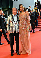 Blanca Blanco &amp; John Savage at the gala screening for &quot;Dogman&quot; at the 71st Festival de Cannes, Cannes, France 16 May 2018<br /> Picture: Paul Smith/Featureflash/SilverHub 0208 004 5359 sales@silverhubmedia.com
