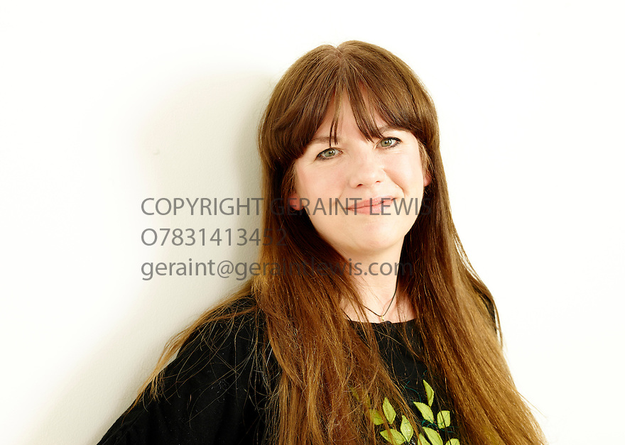 Karen McCrombie best selling children's author and writer of Ally's World . CREDIT Geraint Lewis