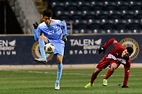 Chester, PA - Friday December 08, 2017: Mark Salas The Indiana Hoosiers defeated the North Carolina Tar Heels 1-0 during an NCAA Men's College Cup semifinal soccer match at Talen Energy Stadium.