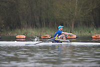 Caversham. Berkshire. UK<br /> Nick BELL<br /> 2016 GBRowing U23 Trials at the GBRowing Training base near Reading, Berkshire.<br /> <br /> Monday  11/04/2016 <br /> <br /> [Mandatory Credit; Peter SPURRIER/Intersport-images]