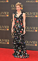 Janie Dee at the Olivier Awards 2018, Royal Albert Hall, Kensington Gore, London, England, UK, on Sunday 08 April 2018.<br /> CAP/CAN<br /> &copy;CAN/Capital Pictures<br /> CAP/CAN<br /> &copy;CAN/Capital Pictures