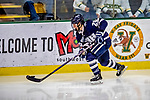 9 February 2019: University of New Hampshire Wildcat Forward Patrick Grasso, a Sophomore from Ankeny, Iowa, in third period action against the University of Vermont Catamounts at Gutterson Fieldhouse in Burlington, Vermont. The Wildcats fell to the Catamounts 4-1 splitting their 2-game Hockey East weekend series. Mandatory Credit: Ed Wolfstein Photo *** RAW (NEF) Image File Available ***