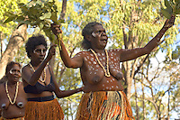 Aurukun Dancers 1,  Laura Aboriginal Dance Festival, Laura, Cape York Peninsula, Queensland, Australia.