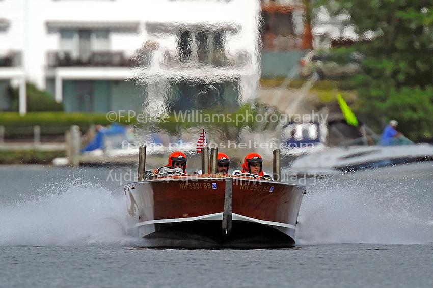 "Geoffrey Magnuson, U-14 ""Miss America VII"" (Replica of Gar Wood's 1928 hull)"