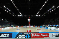 28.06.2010 Action during the ANZ Champs Semi Final netball match between the Magic and Steel played at Vector Arena in Auckland. ©MBPHOTO/Michael Bradley