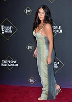SANTA MONICA, USA. November 11, 2019: Kim Kardashian at the 2019 E! People's Choice Awards at Santa Monica Barker Hangar.<br /> Picture: Paul Smith/Featureflash