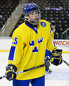 Calle Järnkrok (Sweden - 25) - Sweden defeated the Czech Republic 4-2 at the Urban Plains Center in Fargo, North Dakota, on Saturday, April 18, 2009, in their final match of the 2009 World Under 18 Championship.