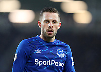 26th December 2019; Goodison Park, Liverpool, Merseyside, England; English Premier League Football, Everton versus Burnley; Gylfi Sigurdsson of Everton - Strictly Editorial Use Only. No use with unauthorized audio, video, data, fixture lists, club/league logos or 'live' services. Online in-match use limited to 120 images, no video emulation. No use in betting, games or single club/league/player publications