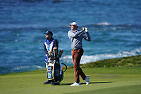 Matt Kuchar (USA) in action during the final round of the AT&T Pro-Am, Pebble Beach, Monterey, California, USA. 08/02/2020<br /> Picture: Golffile | Phil Inglis<br /> <br /> <br /> All photo usage must carry mandatory copyright credit (© Golffile | Phil Inglis)