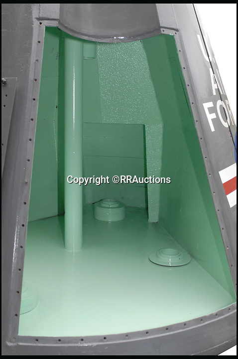 BNPS.co.uk (01202 558833)<br /> Pic: RRAuctions/BNPS<br /> <br /> ***Please Use Full Byline***<br /> <br /> The capsule from the Gemini space missions that is up for sale. It is thought to fetch &pound;35,000.<br /> <br /> Space fans have got the chance to own a piece of history - after one of the capsules from the ground-breaking Gemini space missions of the 1960s emerged for sale.<br /> <br /> The 9ft capsule was used by NASA to test the design and handling of the spacecraft during the highly dangerous missions, which resulted in the first ever space walks.<br /> <br /> The Gemini missions paved the way for putting man on the moon with the Apollo space programme by testing longer space flights and perfecting methods of re-entry and landing.<br /> <br /> Experts at Boston saleroom RR Auction where it will go under the hammer are expecting it to fetch upwards of $50,000 - around &pound;35,000