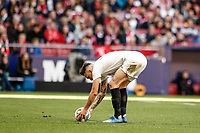 7th March 2020; Wanda Metropolitano Stadium, Madrid, Spain; La Liga Football, Atletico de Madrid versus Sevilla; Lucas Ocampos (Sevilla FC)  takes and scores from the penalty spot