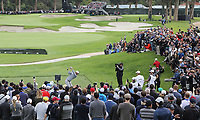 February 19, 2017: Dustin Johnson wins the 2017 Genesis Open played at Riviera Country Club in Pacific Palisades, CA. Michael Zito