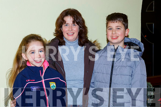Rachel, Patrice and Richard Boyle at the Carol service in St Michaels church Killorglin on Sunday night