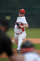 Illinois State Redbirds pitcher Mitch Vogrin (20) during a game against the Bucknell Bison on March 8, 2015 at North Charlotte Regional Park in Port Charlotte, Florida.  Bucknell defeated Illinois State 13-8.  (Mike Janes Photography)