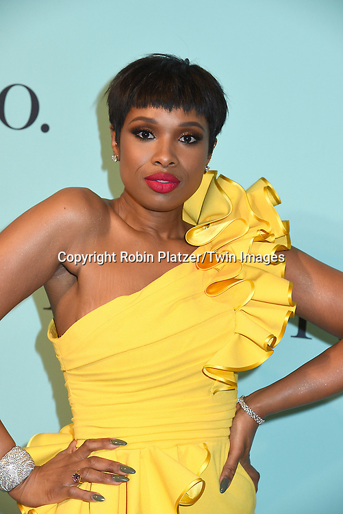Jennifer Hudson attends the Tiffany &amp; Co 2017 Blue Book Collection on April 21, 2017 at St Ann's Warehouse in Brooklyn, New York, USA.<br /> <br /> photo by Robin Platzer/Twin Images<br />  <br /> phone number 212-935-0770