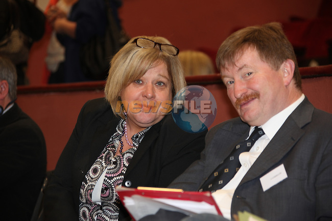 Ardee town Council count in the bohamien centre in Ardee..Rose Downs SF and Pierce McHugh..Pic: www.newsfile.ie