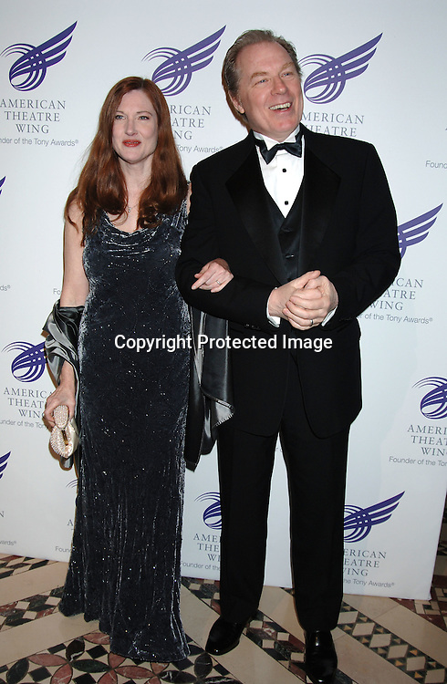 Annette O'Toole and husband Michael McKean ..at The American Theatre Wing's Annual Spring Gala honoring Matthew Broderick and Nathan Lane on ..April 10, 2006 at Cipriani 42nd Street. ..Robin Platzer, Twin Images