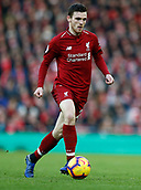 9th February 2019, Anfield, Liverpool, England; EPL Premier League football, Liverpool versus AFC Bournemouth; Andrew Robertson of Liverpool