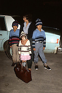 January, 1983. Tijuana, Mexico. Many Mexican families attempt to cross the border with their children at night. Using night vision devices the border patrol catches them, arrests them, and immediately deports them back to Mexico.