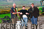 Rising Kerrys cows: Colm Murphy, Lios Póil, with his son Darragh and Kieran Murphy from Murphy's Ice Cream, Dingle.