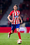 Filipe Luis of Atletico de Madrid in action during the UEFA Europa League 2017-18 Round of 16 (1st leg) match between Atletico de Madrid and FC Lokomotiv Moscow at Wanda Metropolitano  on March 08 2018 in Madrid, Spain. Photo by Diego Souto / Power Sport Images