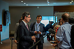 France ambassador to United Nation <br /> <br /> Speaking to press