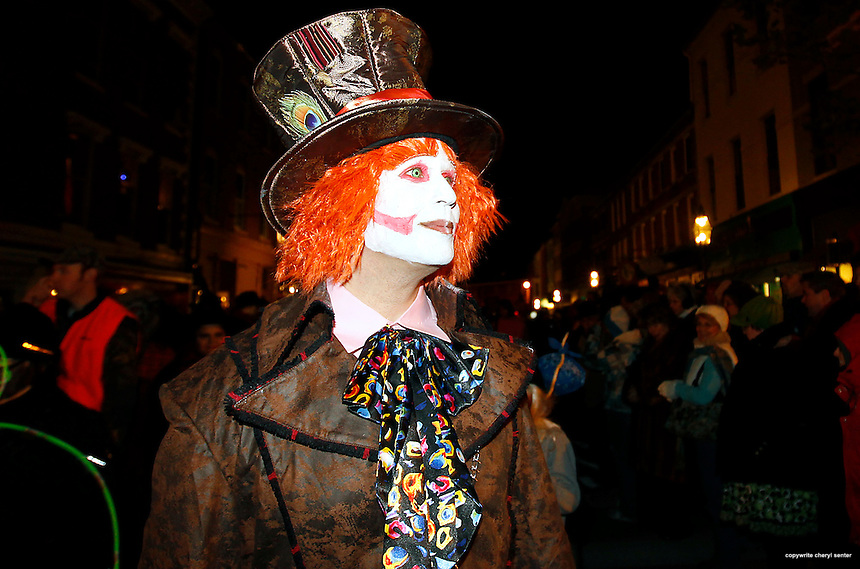 Portsmouth Halloween Parade in Portsmouth, N.H. Sunday, Oct. 31,  2010.  (Portsmouth Herald Photo Cheryl Senter)