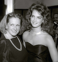 Teri Shields and Brooke Shields Undated<br /> Photo By John Barrett/PHOTOlink