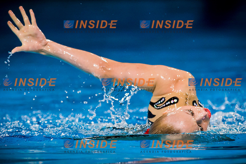 Lolita Ananasova (UKR) bronze medal..European Synchronised Swimming Championships Eindhoven 2012..Solo Free Routine - Finals ..Eindhoven (Netherlands), 26/05/2012, Pieter Van Den Hoogenband Swimming Stadium..ph. Giorgio Perottino / Deepbluemedia