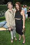 Beth Rudin DeWoody, Meike Marple==<br /> LAXART 5th Annual Garden Party Presented by Tory Burch==<br /> Private Residence, Beverly Hills, CA==<br /> August 3, 2014==<br /> &copy;LAXART==<br /> Photo: DAVID CROTTY/Laxart.com==