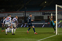1st November 2019; Dens Park, Dundee, Scotland; Scottish Championship Football, Dundee Football Club versus Greenock Morton; Kane Hemmings of Dundee scores for 1-0 in the 62nd minute - Editorial Use
