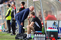 Fleetwood Town manager Uwe Rosler during the Sky Bet League 1 match between Bristol Rovers and Fleetwood Town at the Memorial Stadium, Bristol, England on 26 August 2017. Photo by Mark  Hawkins.