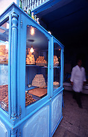 Tunisia. North Africa. Sweet Pastries at a Patisserie in The Medina, Kairouan