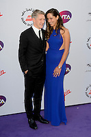 Bastian Schweinstieger &amp; Ana Ivanovich at WTA Pre-Wimbledon Party at Kensignton Roof Gardens, London.<br /> June 25, 2015  London, UK<br /> Picture: Dave Norton / Featureflash