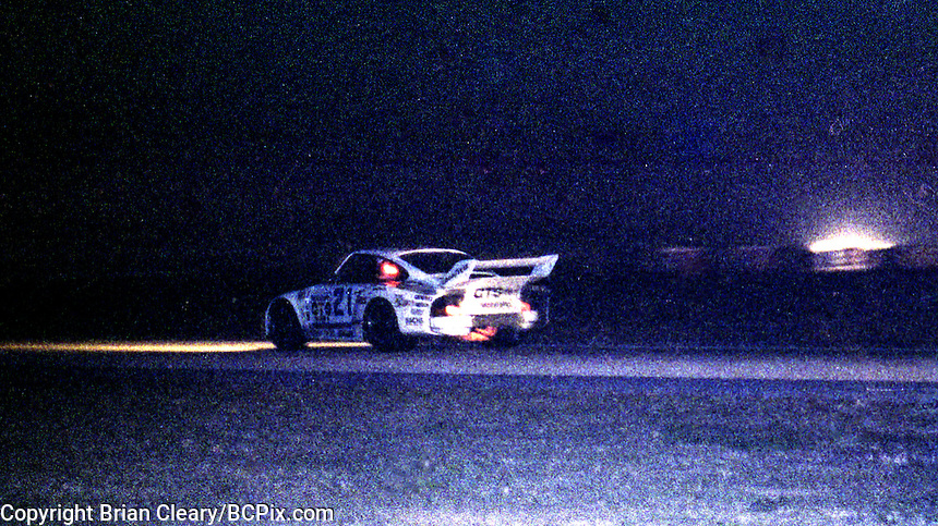 #21 Porsche 935 of  Volkert Merl, Reinhold Jöst, and Franz Konrad 13th place finish, 1978 24 Hours of Daytona, Daytona International Speedway, Daytona Beach, FL, February 5, 1978.  (Photo by Brian Cleary/www.bcpix.com)
