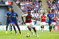 Danny Welbeck of Arsenal in action during Arsenal vs Chelsea, FA Community Shield Football at Wembley Stadium on 6th August 2017