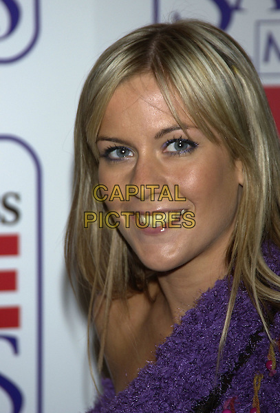 KATE LAWLER.Vodafone Life Savers Awards, Savoy Hotel, The Strand, London, November 11th 2004..half length green satin shirt.Ref: PL.www.capitalpictures.com.sales@capitalpictures.com.©Capital Pictures.